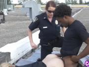 Cops Joslyn And Maggie Sharing Big Black Dong
