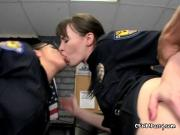 Slutty Police Officers Get Bent Over By Crooks