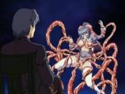 Huge-Busted Anime Violin Player Fucked By Tentacles