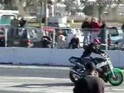 Epic Fail Wheelie