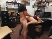 Couple bitches give blowjob and banged by pawn keeper