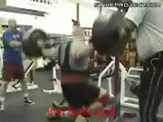 Weight Lifter Squat Epic Fail