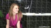 Adorable Gal Screwed In Rest Room