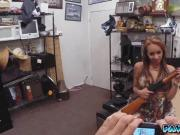 The little stripper grab a dick and put it deep in her mouth
