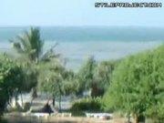 Tsunami Wave Hits Hotel In Sri Lanka