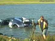 Bugatti Veyron Saltwater Lagoon Crash Aftermath