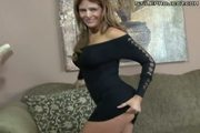 Hot brunette milf creampie