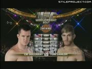 CB Dollaway vs. Tom Lawlor UFC 100