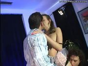 Tiffany Holiday insane teen double penetration!