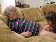Old couple seduce young first time Chillin with a steamy Tamale!