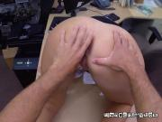 Hot Vixen Gets Fingered By Pawnbroker And Gets Paid For It