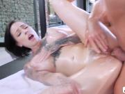 Bigtits Harlow Harrison gets some anal fuck