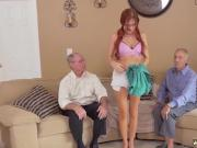Holly michaels anal threesome This female took it at both ends at the