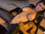 Busty pornstar gets her pussy wrecked by big black cock