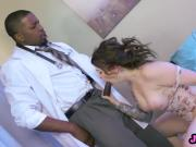 Threesome interracial in hospital Monique and Ivy