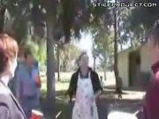 BBQ Skewer Juggling Kills Pigeon