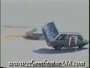 crazy car stunt in saudi arabia