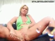 Flower Tucci Squirts & Does Anal - Threesome