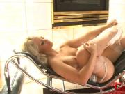 Big boobs blonde ho DP by black cocks and gives head