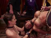 Halloween orgy bdsm party