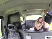 Slutty Adreena adores hardcore anal in the taxi with the driver