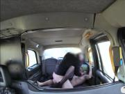Tattooed bitch sucks off and pounded in the backseat