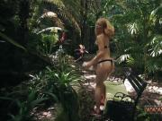 Teen boat hd xxx Next, he binds her wrists toa tree trunk with cord