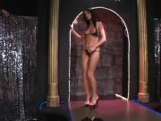 Brunette loves cocksucking and hardcore sex