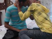 African gays enjoying wild raw sex