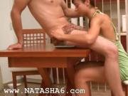 Natashas fucking adventure on the table