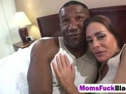 Filthy housewife Cheyenne squeals with a huge black dick