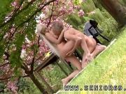 Bisexual outdoor She is a real