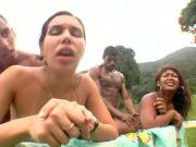 Big Bubble Butt Brazilian Orgy 06