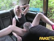 Fake Taxi Horny blonde fucked in the ass on taxi bonnet