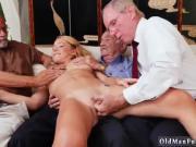 Young girl big tits fucking old man