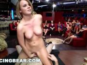DANCING BEAR - CFNM Whores Sucking Male Stripper Dick At The Club db11453