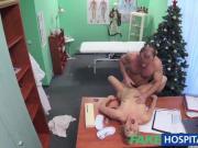 FakeHospital Doctor Santa cums twice