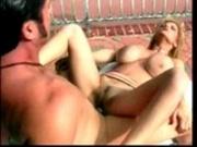 Cuming on huge dangling tits