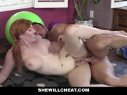 SheWillCheat - Ginger Wife With Tight Pussy Fucks Her Trainer