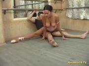 flexi sex with young busty ballerina