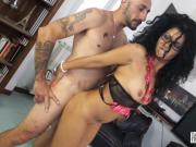 Casting Alla Italiana - Squirting babe is ass fucked during Italian casting