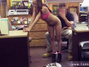 Blonde teen pink lingerie College Student