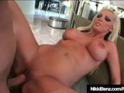Penthouse Pet Nikki Benz Fucks Her Plumber's Hard Tool!