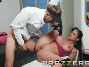 Brazzers - Cathy Heaven gets some big cock as a pre workout