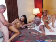 Mature ir Staycation with a Latin Hottie