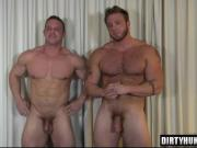 Muscle gays anal sex with cumshot