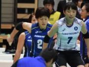 Japanese girls' volleyball grammar body