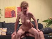 German 47yr old Skinny MILF Seduce to Fuck