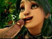 Talim & Amy 3D sex compilation