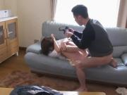 Asian Stepmom Fujisaki Used And Abused